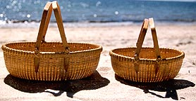 Pair of Nantucket Style Harvest Baskets