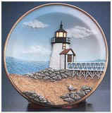 Nantucket Brant Point Lighted Plate